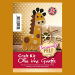 Decracraft Felt Giraffe Kit