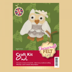 Teddy Kit Traditional Bear Large Decracraft Felt craft Kit