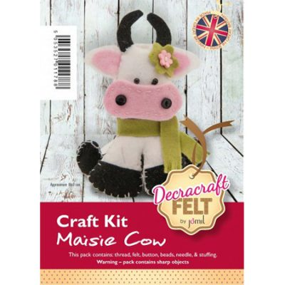 Felt Cow Kit by Decracraft