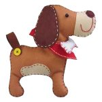 Kleiber Felt Animal Kit – Puppy