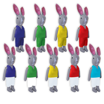 Bunny Football Mascot Sewing Kit