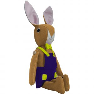 Bunny Sewing Kit (Biscuit)